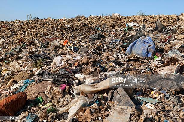 Landfill site in the UK