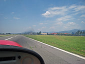 Landing at Orio al Serio Airport