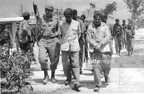 Landing at the Bay of Pigs Mercenaries made prisoners Cuba
