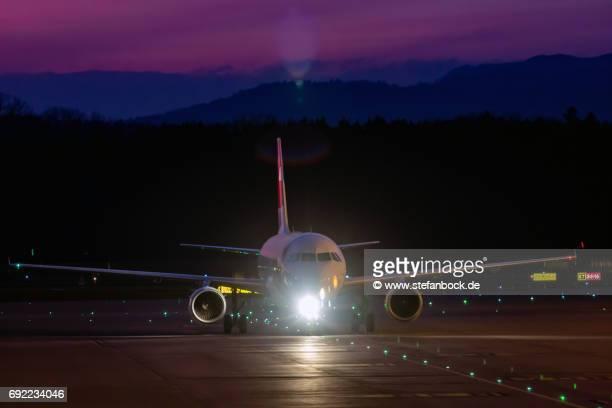 Landing at Zurich Airport