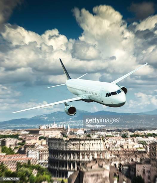 landing in Rome
