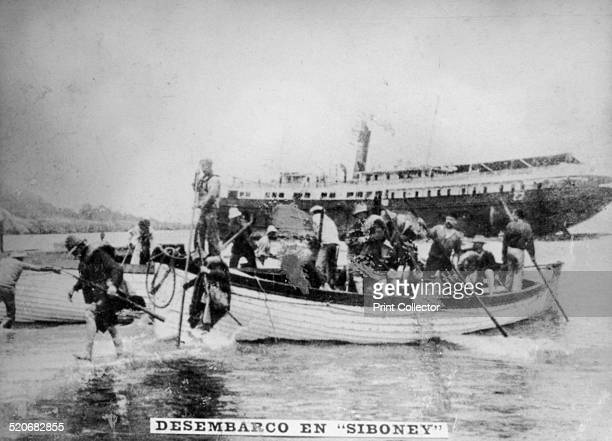 Landing in Siboney On June 23 Cuban forces occupied this settlement The Americans landed some troops two days later General Calixro Garcia landed...
