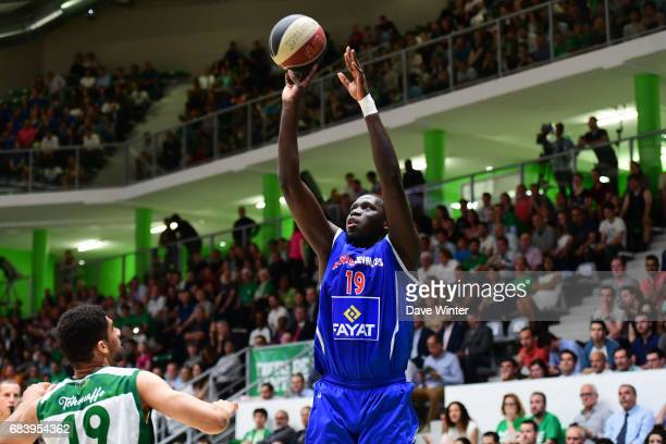 Landing Sane of Paris Levallois during the Pro A match between Nanterre and Paris Levallois on May 16 2017 in Nanterre France