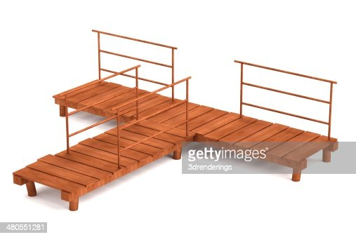 landing stage : Stock Photo