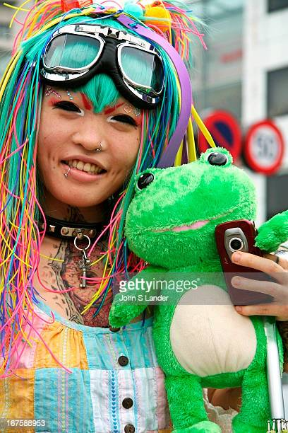 Landlocked diver cosplay girl in Harajuku 'Cosplay' or costume play is a recent phenomenon in Japan It is said that it began with the popularity of...