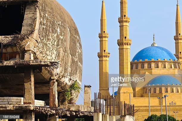 Landmark buildings in Beirut, Lebanon