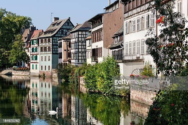 Landmark in Strasbourg - The Quarter Petite France