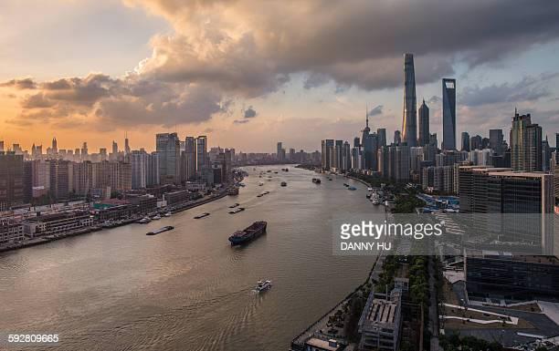 Landmark of Shanghai city