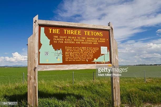Landmark Sign of Historic West