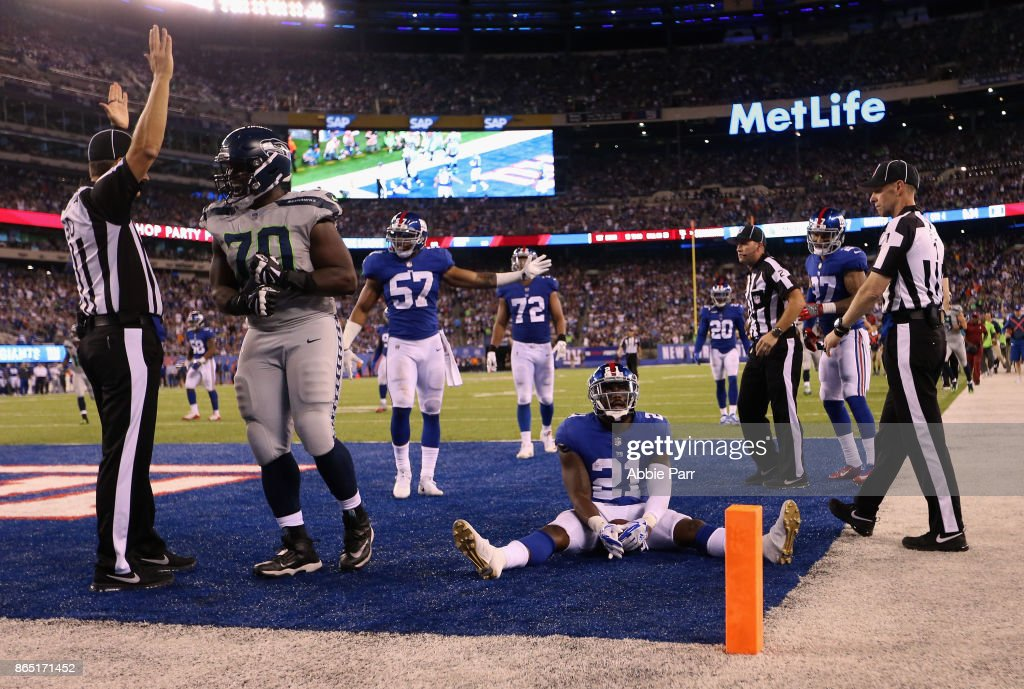 Seattle Seahawks v New York Giants