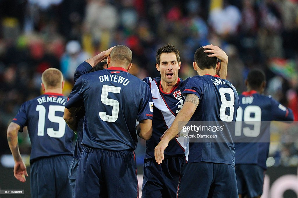 Slovenia v USA: Group C - 2010 FIFA World Cup