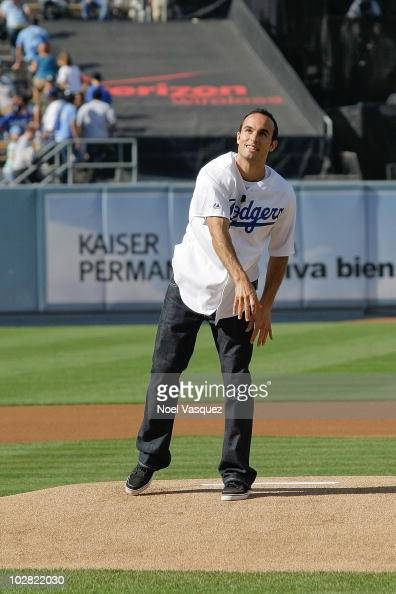 celebrity sightings at dodgers game photos and images getty images