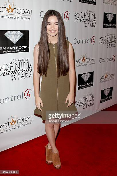 Landry Bender attends ACT's 10th annual Denim Diamonds Gala at Four Seasons Hotel on October 25 2015 in Westlake Village California