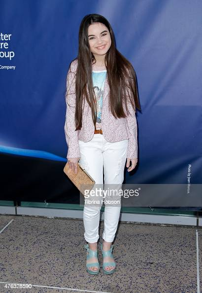 Landry Bender attends 'Matilda The Musical' opening night at Ahmanson Theatre on June 7 2015 in Los Angeles California