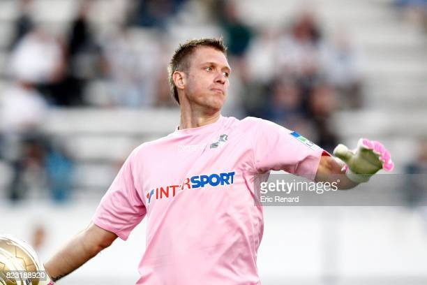 Landry BONNEFOI Amiens / Nimes Coupe de la Ligue 2011/2012
