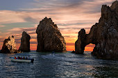 Land's End & Arch at Sunset