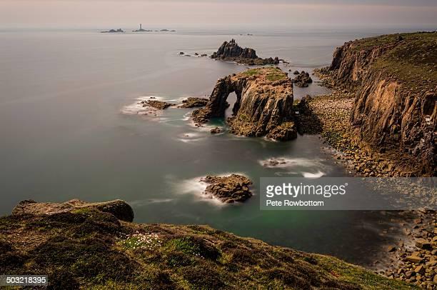 Lands End, Enys Dodnan to Longships Lighthouse