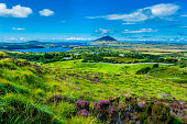 Landscape and Coast Connemara in Ireland