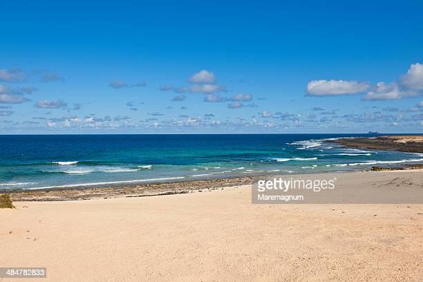 Landscape at Playa (beach) de Ambar