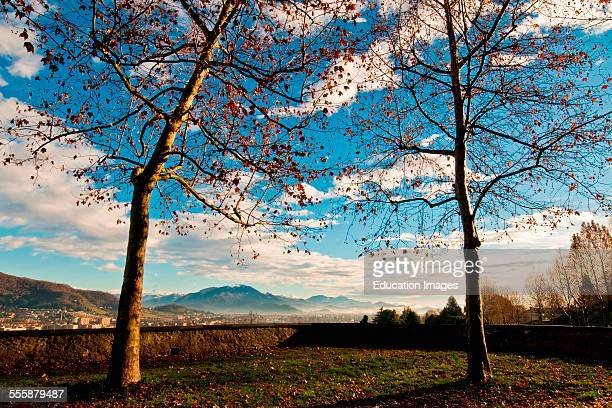 Landscape From Bergamo Alta Italy