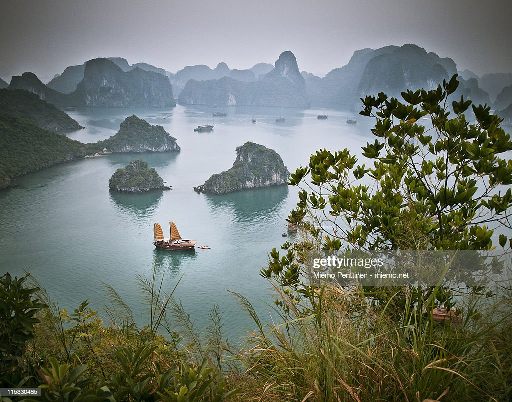 Landscape from Ha Long Bay, Vietnam : Stock Photo