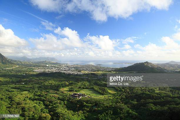 Landscape From Nuuanu Valley Park, Hawaii, U.S.A.