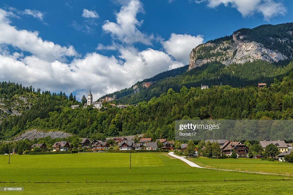 Landscape in Alps mountains, Austria : Stock Photo