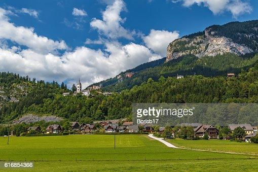 Landscape in Alps mountains, Austria : Stock Photo