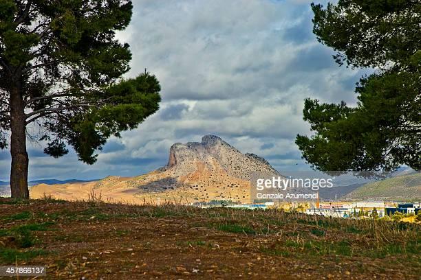 Landscape in Antequera.