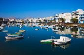 Landscape in Arrecife Lanzarote.