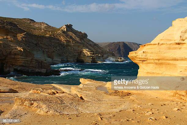 Landscape in Cabo de Gata