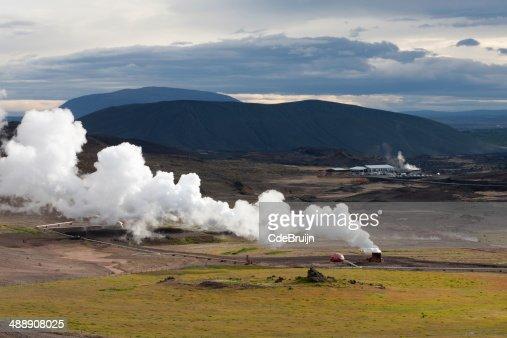 景観にアイスランドの Plume の...