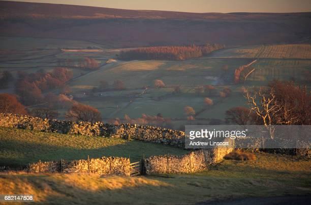 Landscape in North Yorkshire, England