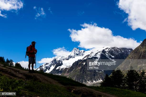 Landscape in the Tour of Mont Blanc Trekking