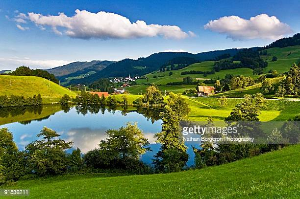 Landscape in Zurich Region of Switzerland