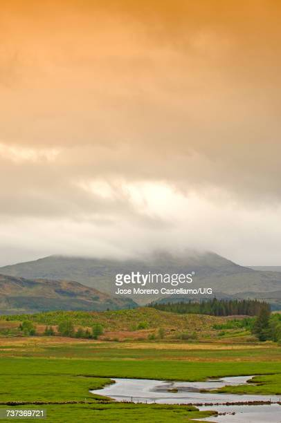 Landscape, Mull, Inner Hebrides, Argyll and Bute, Scotland, United Kingdom