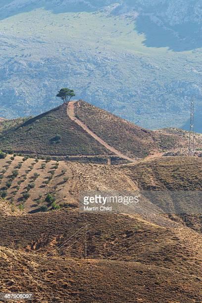 Landscape near Antequera in Andalucia