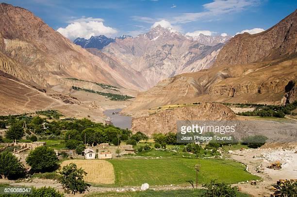Landscape near Khorog, Tajikistan