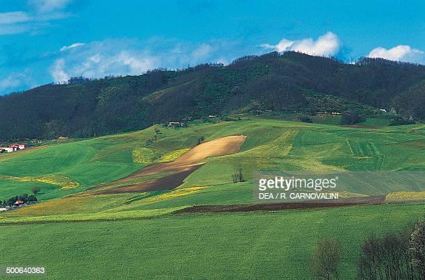 Landscape near Riccia Sannio Molise Italy