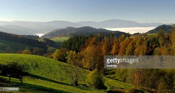 Landschaft in der Nähe von St. Märgen, Black Forest