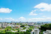 landscape of Fukuoka city