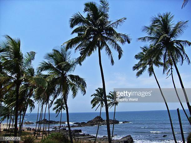 Landscape of Goa beach in India March 27 2008 The state of Goa is located on the western coast of India in the coastal belt known as Konkan The...
