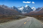Landscape of Karakoram Highway
