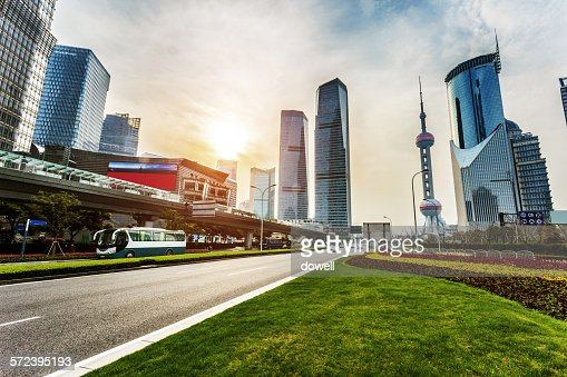Landscape of modern city, Shanghai