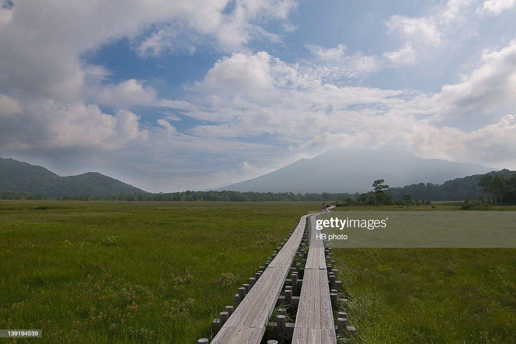 Landscape of Oze valley