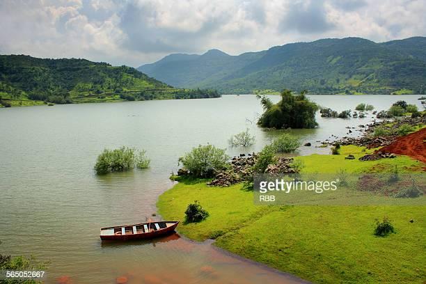 Landscape of River bank