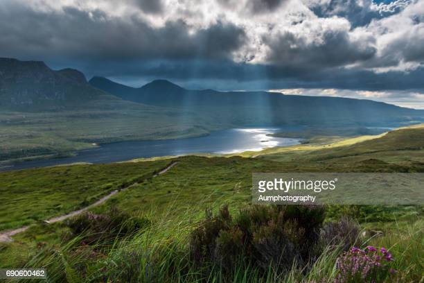 Landscape of Stac Pollaidh, highland