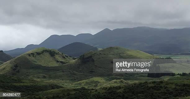 Landscape of Terceira island, Azores