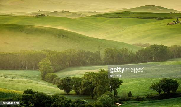 Paysage de la Toscane