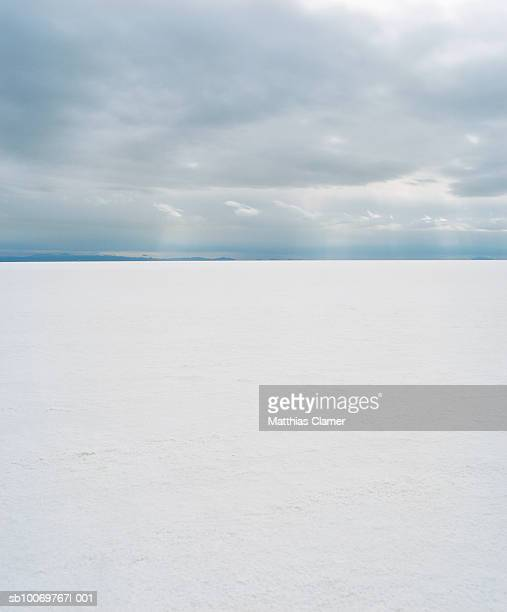 landscape of Utah salt flats